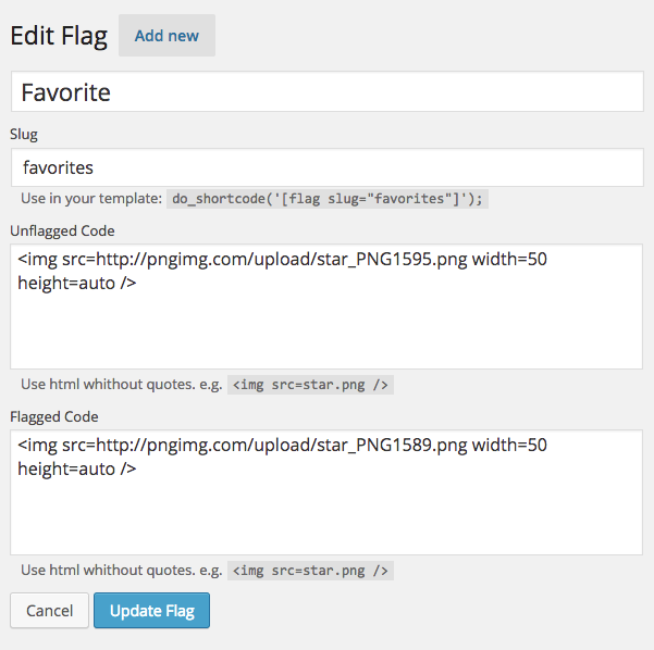 個別投稿内のコンテンツへユーザーごとに「未読」「既読」をボタンで表示ができるプラグイン「Post Flagger」
