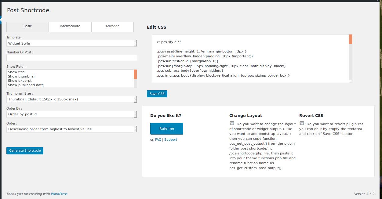 Wpb Filterable WordPress Plugin Shortcode Generator