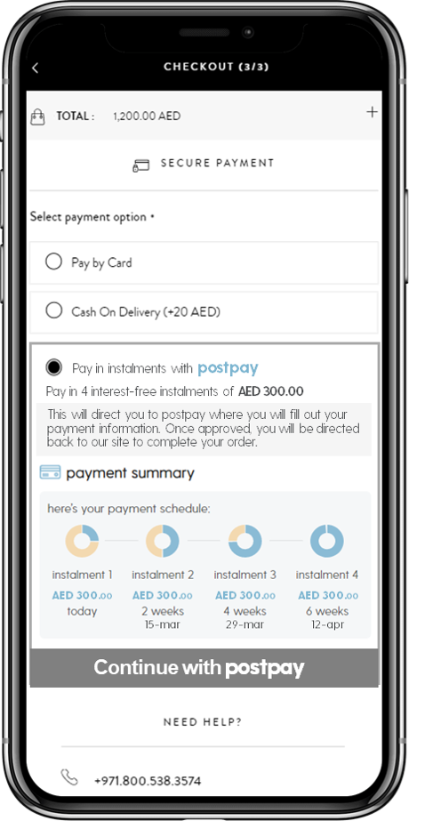 WooCommerce Postpay Payment Gateway