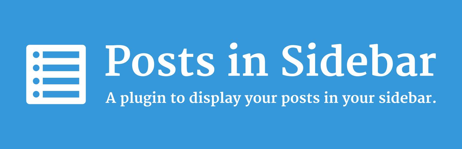 Posts in Sidebar