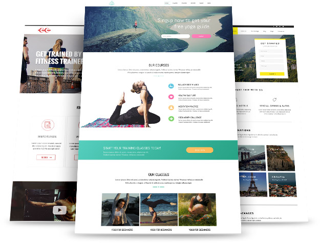 Templates - Premium Page Template