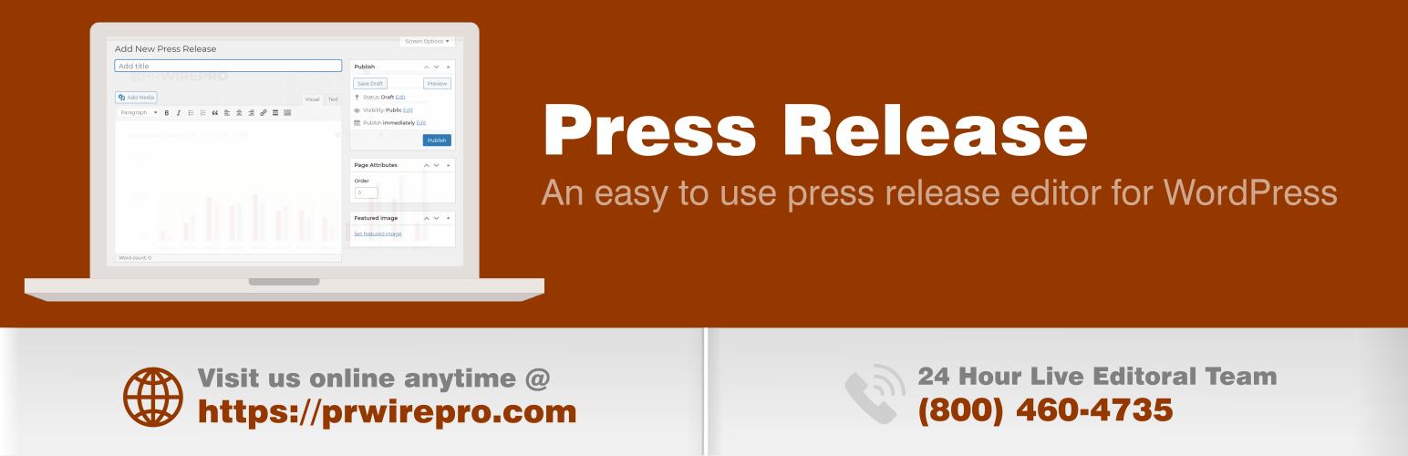 Press Release Editor