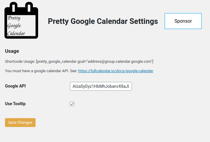 Settings page. It's that simple.