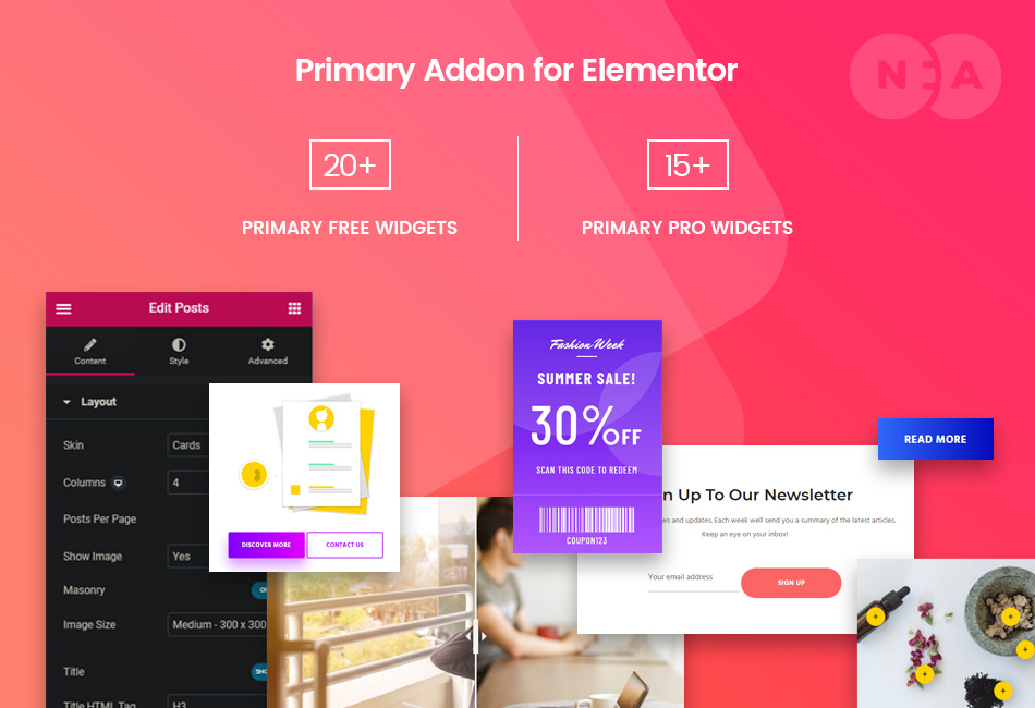 Primary Addon for Elementor - 35+ Must-Need Widgets