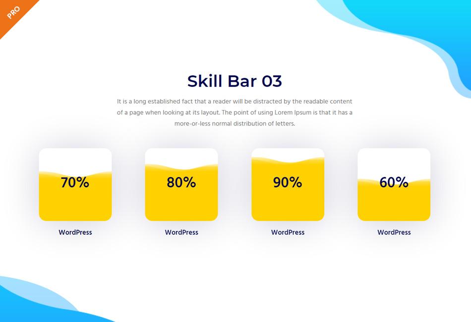 Skill Bar Widget - PRO
