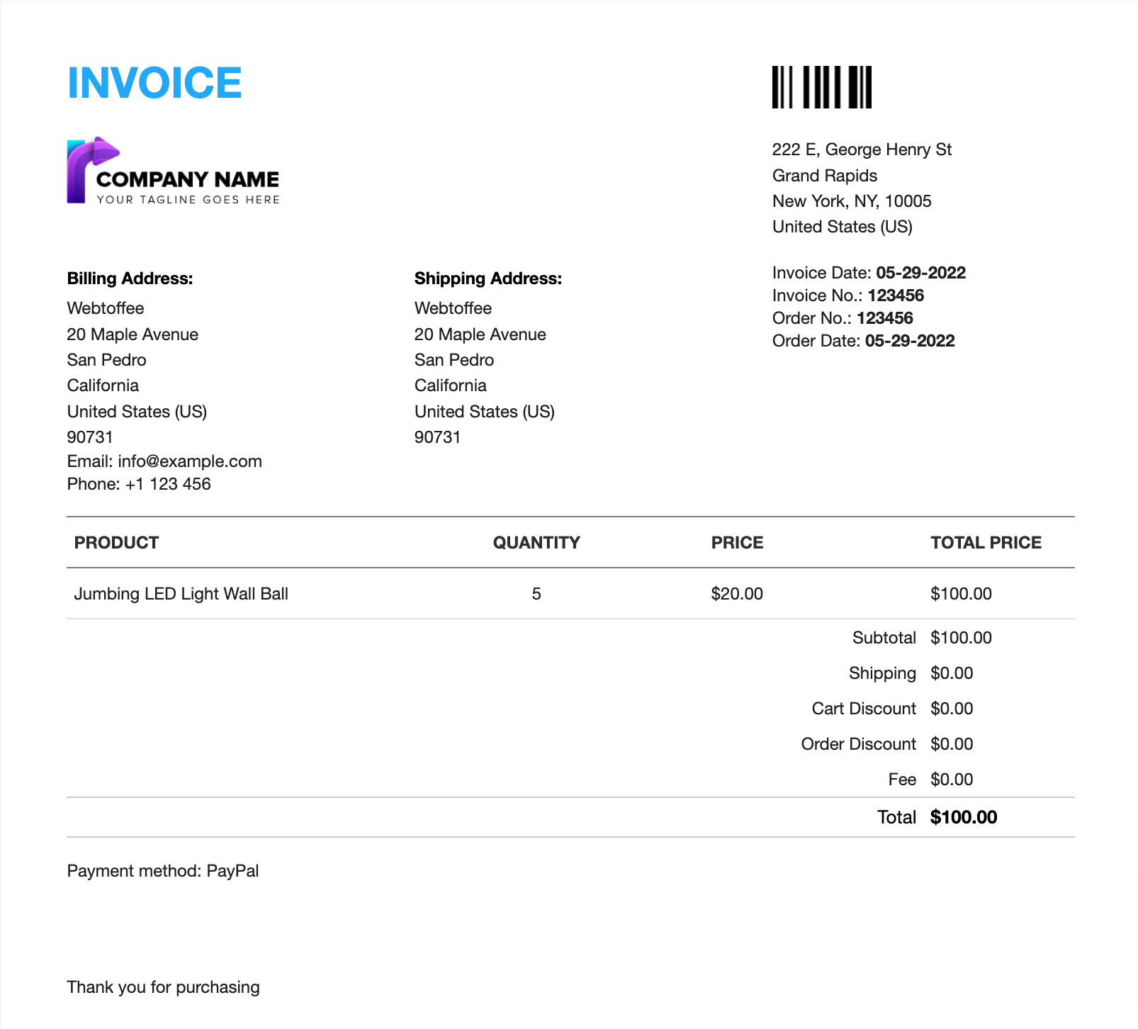 woocommerce pdf invoices packing slips delivery notes shipping