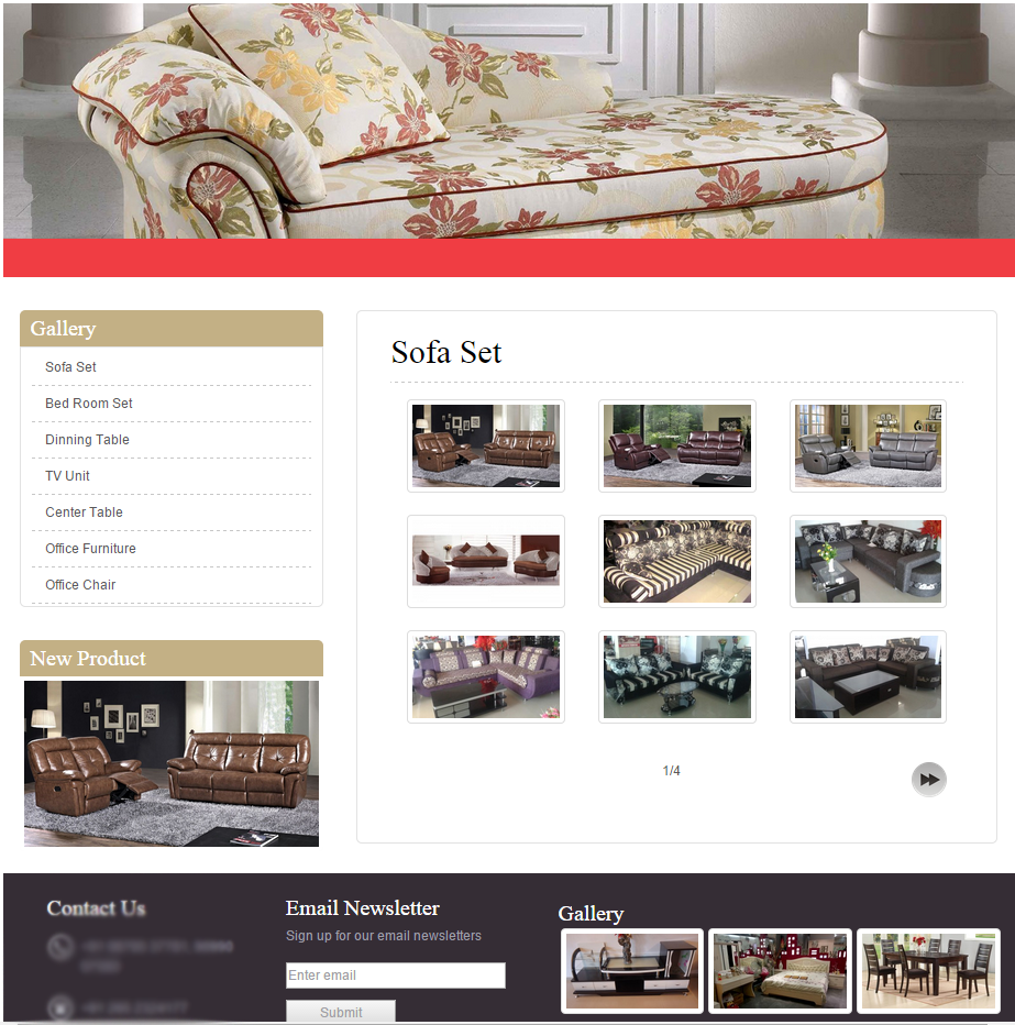 Product Page View.