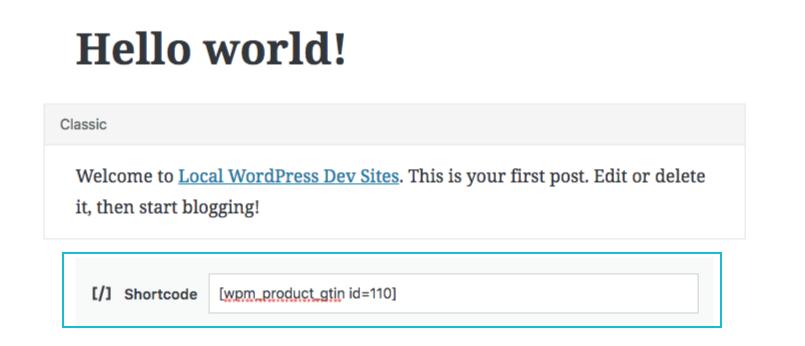Product GTIN (EAN, UPC, ISBN) for WooCommerce – WordPress