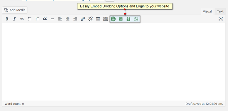 screenshot-2.png Editor buttons for service listing for booking, service calendar, login, and checkout