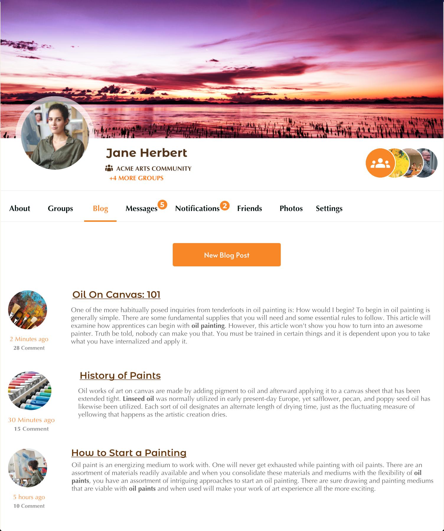 ProfileGrid – User Profiles, Memberships, Groups and Communities