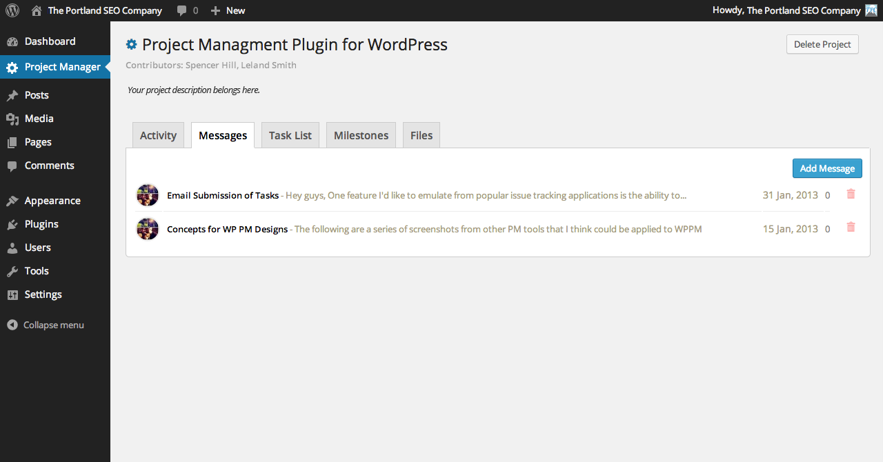 project-manager-by-tpc screenshot 3