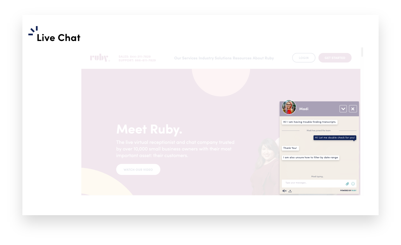 free chat widget for your website