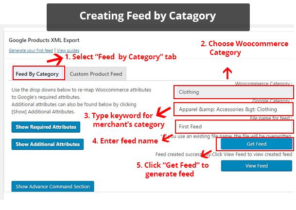 WooCommerce Product Feed Export : Google, Bing, eBay, Amazon ...