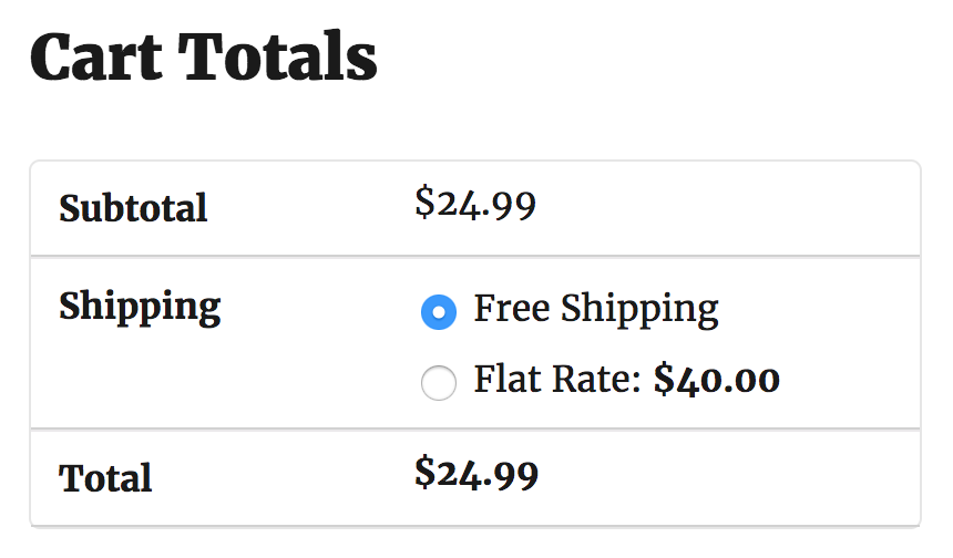 PW WooCommerce Exclude Free Shipping