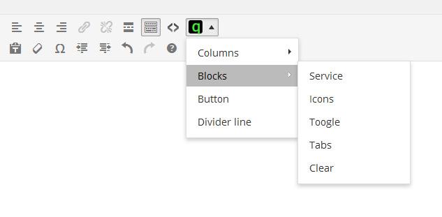 Customizer settings