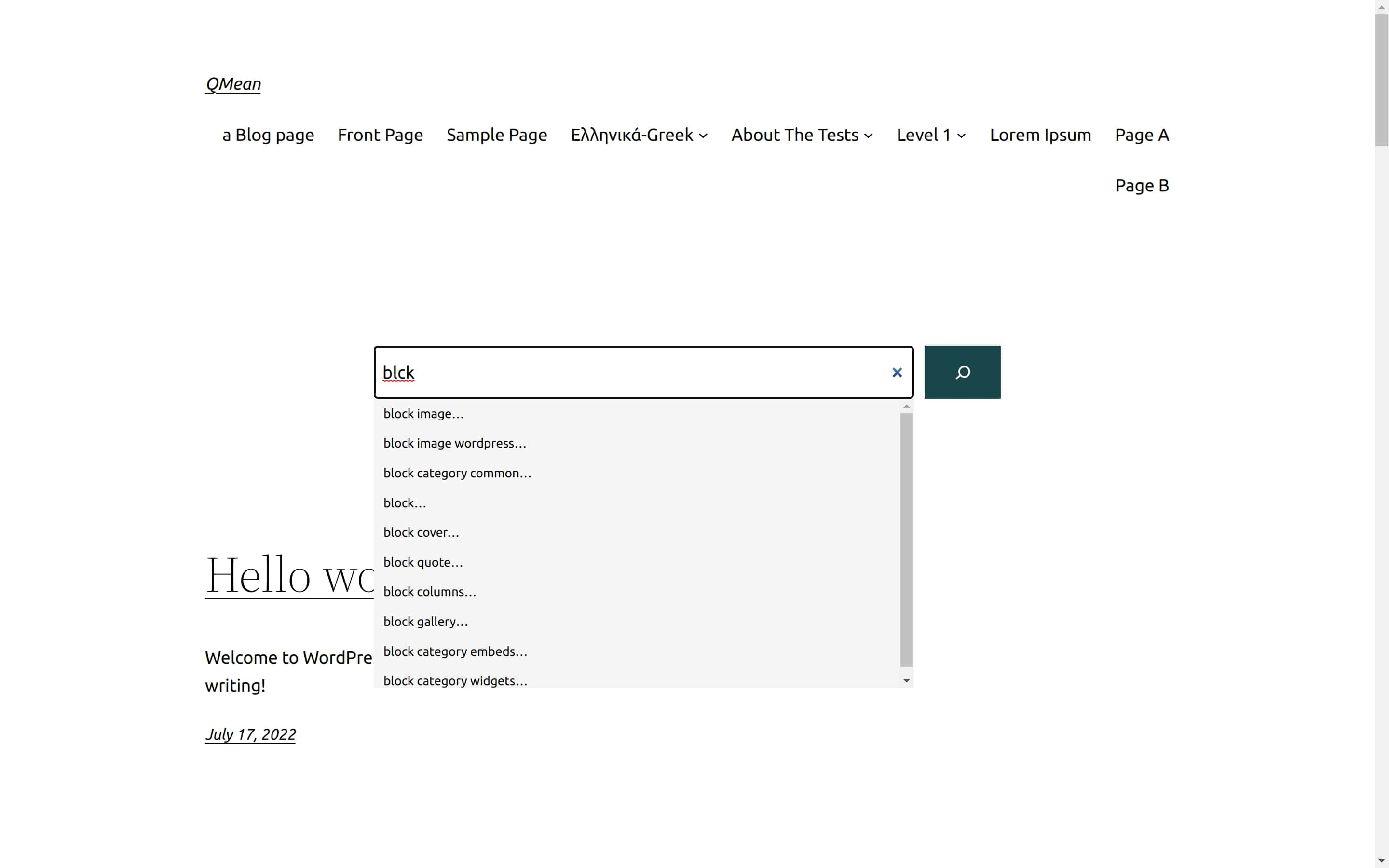 QMean – WordPress Did You Mean and Search Suggestion Like Google