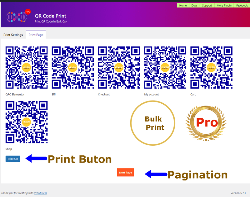 QRs Code Compose Admin Bar Addition in action - a secondary level (screenshot-5.png)