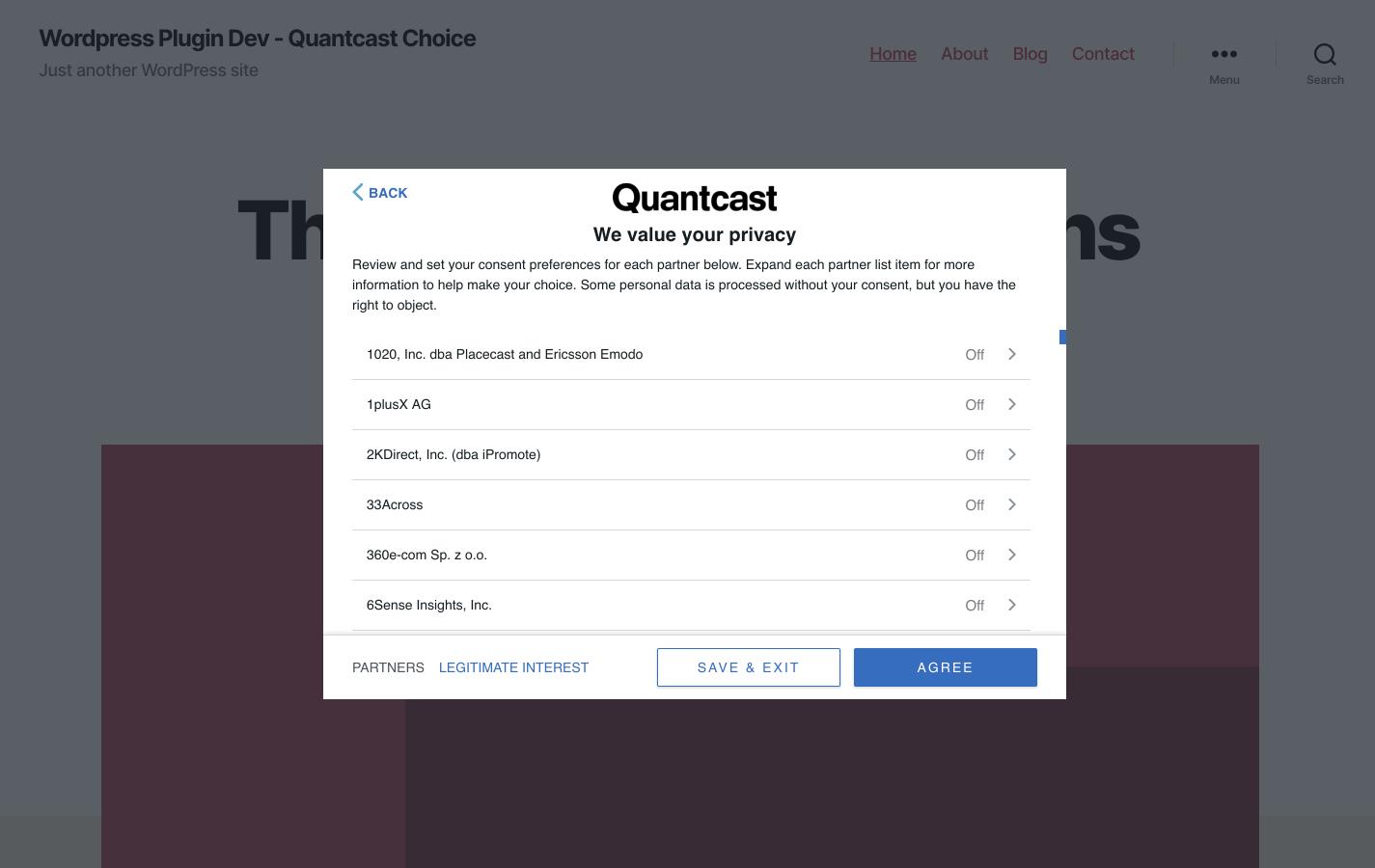 Quantcast Choice