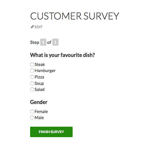 <strong>Published survey</strong>