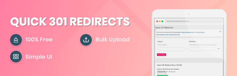 Quick 301 Redirects