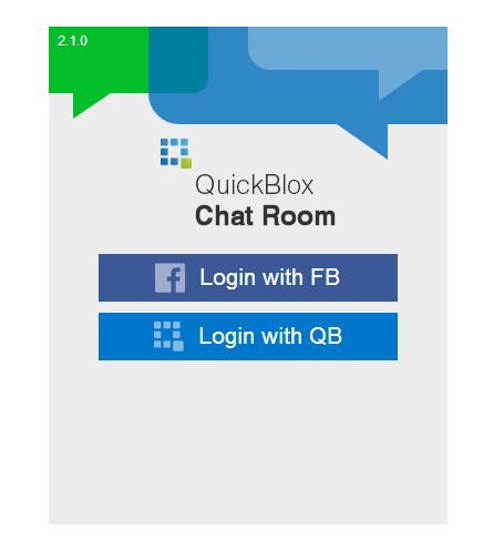 quickblox-chat-room screenshot 2