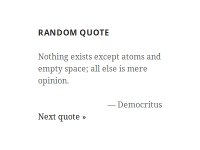 Quotes Collection Prepossessing Quotes Collection  WordPress Plugins