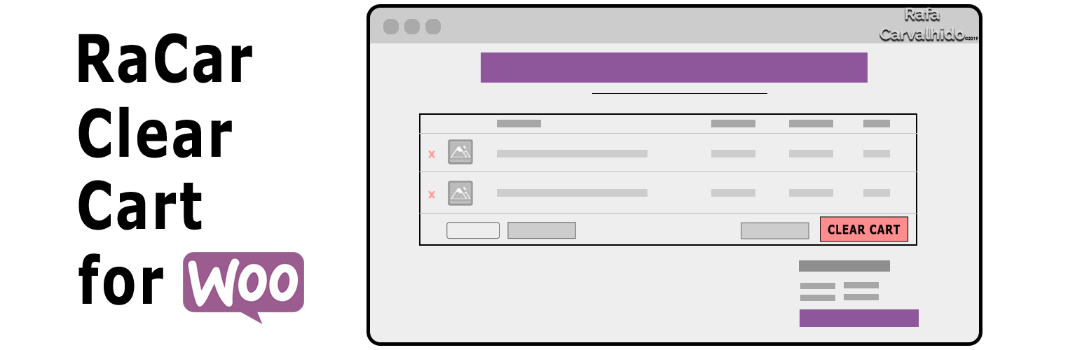 RaCar Clear Cart for WooCommerce