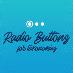 Radio Buttons For Taxonomies Wordpress Plugin Wordpress Org