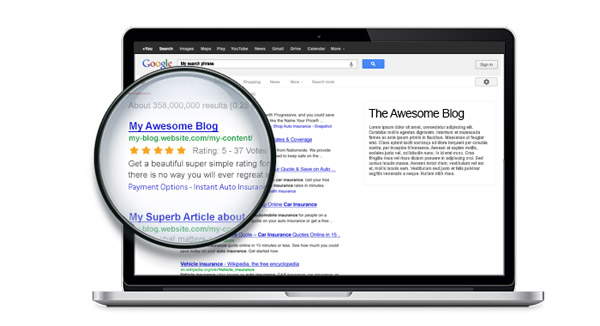 Google 5-star ratings - Rich-Snippets Integration (* Professional Plan)
