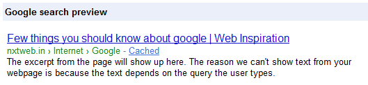 RDFa Breadcrumbs displayed by Google Webmasters rich snippet testing tool.