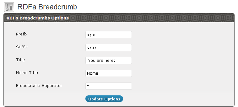 New user Interface of a plugin.