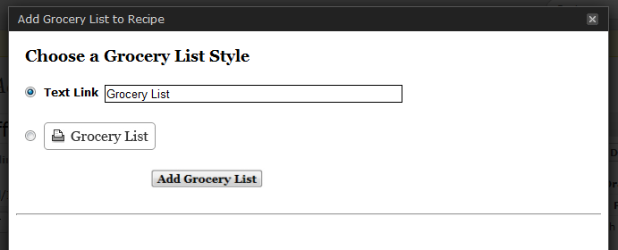Select a text or image link.