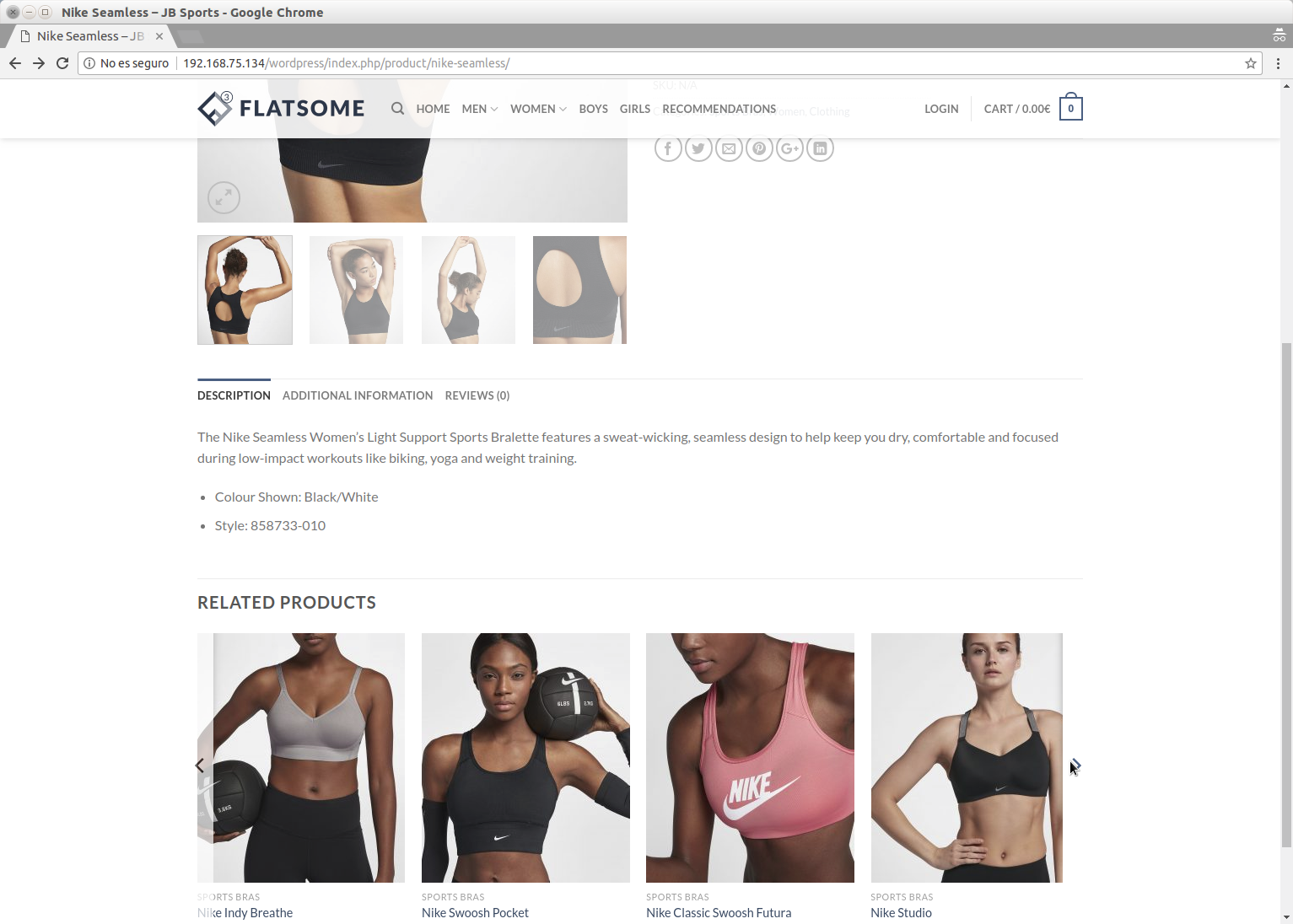 Here's how Recomendo integrates into WooCommerce related products area.