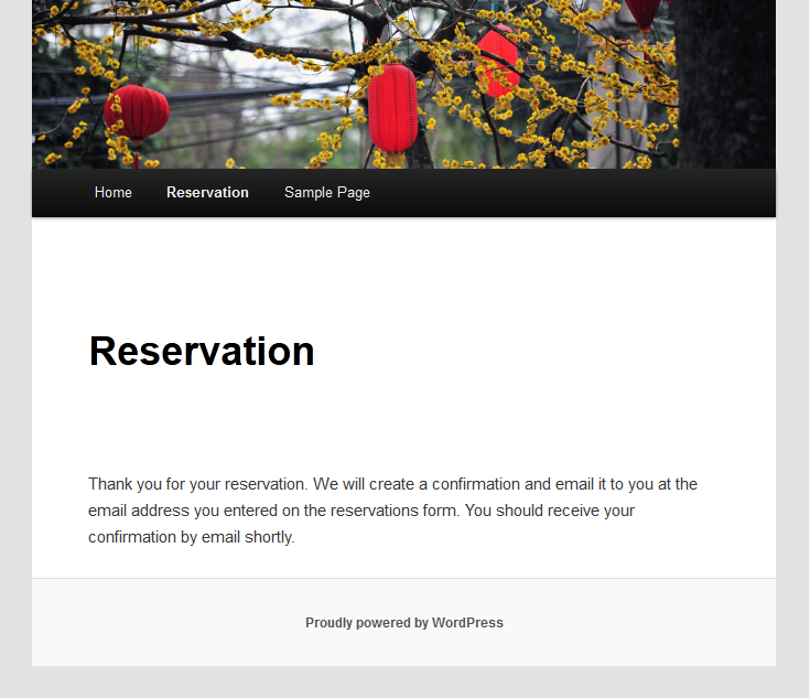 restaurant reservation templates