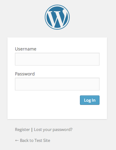 "A screenshot of the login form with ""Remember Me"" removed"