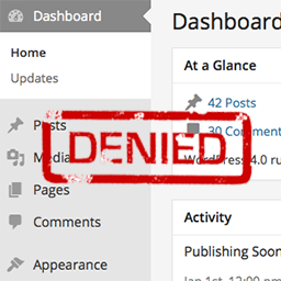 Remove Dashboard Access Wordpress プラグイン Wordpress Org 日本語