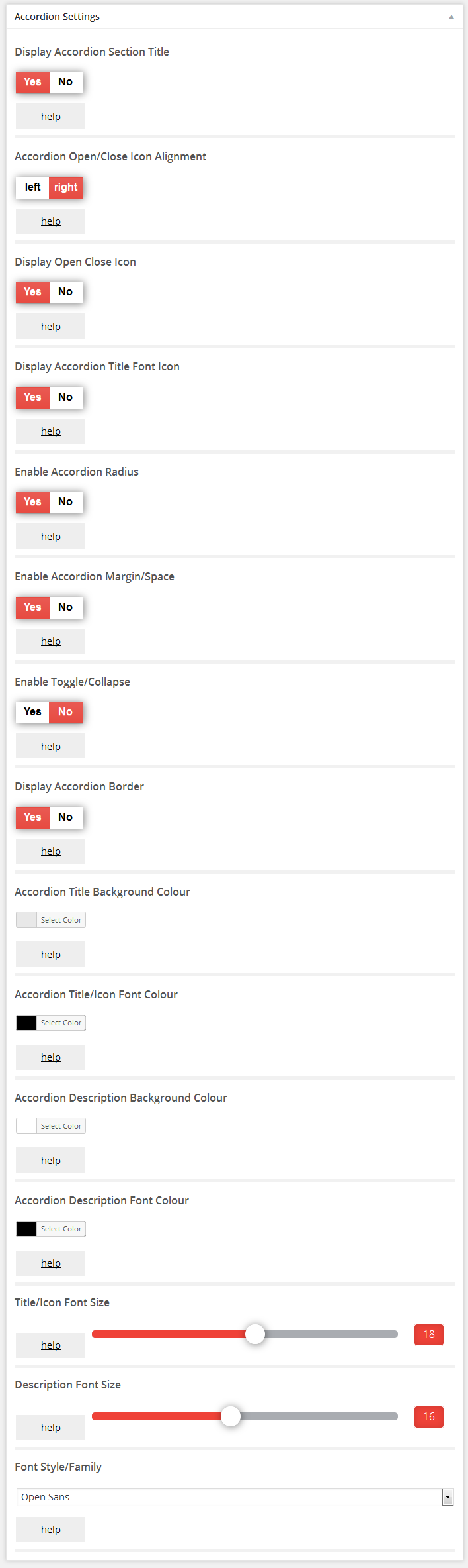 Accordion FAQ – WordPress plugin | WordPress org