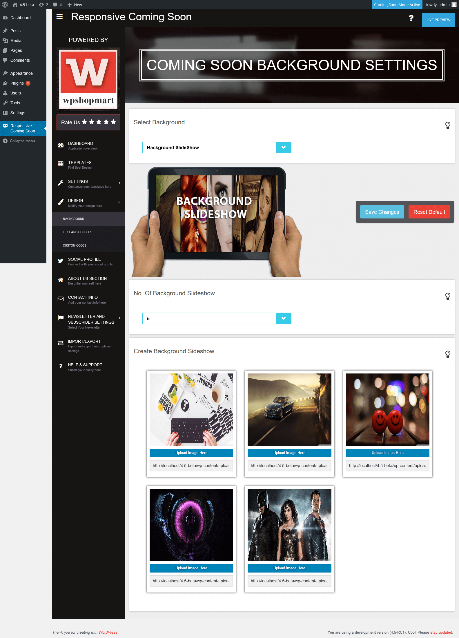 responsive-coming-soon screenshot 15