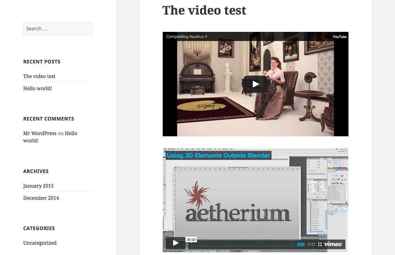 responsive-video-light screenshot 3