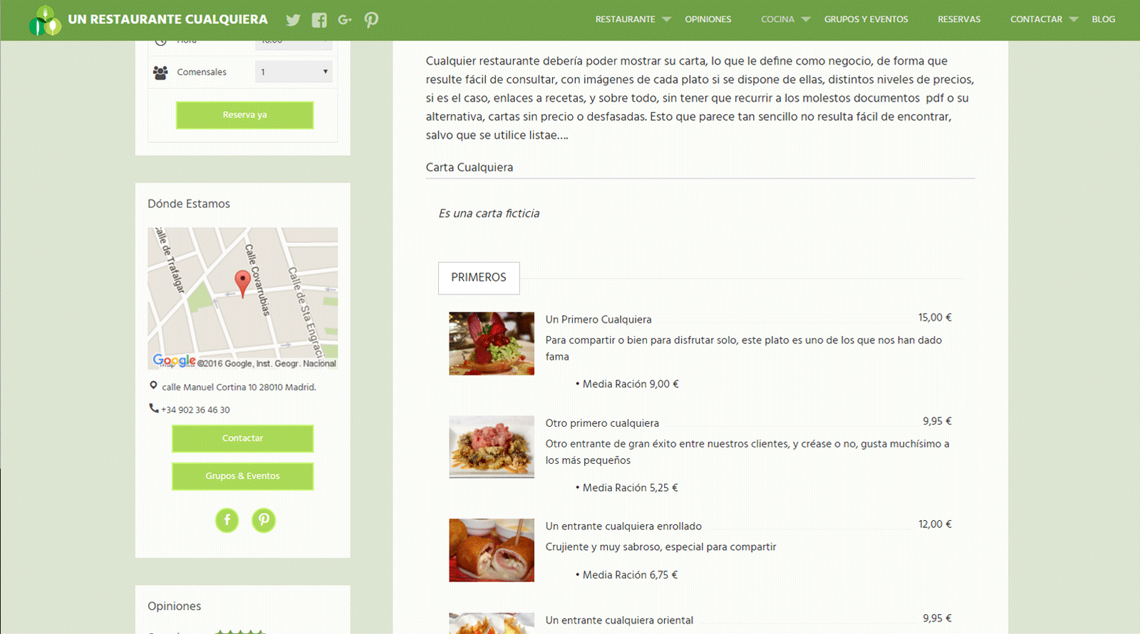 restaurant-bookings screenshot 3