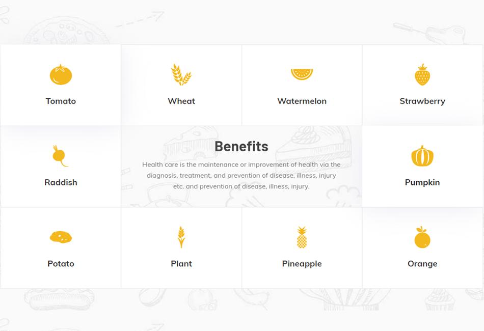 Benefits Widget