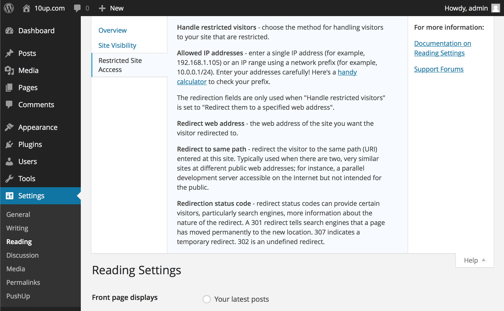 Plenty of inline help! Looks and behaves like native WordPress help.
