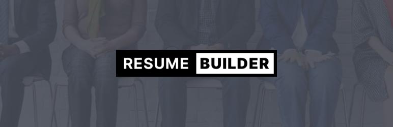 Resume Builder WordPress Plugins