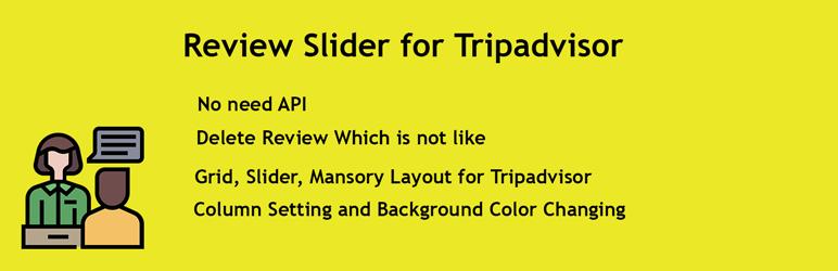 Review Slider for Tripadvisor