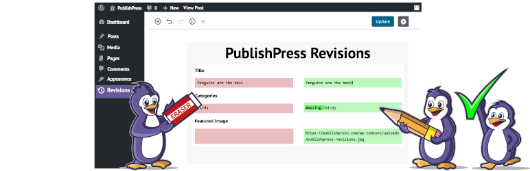PublishPress Revisions: Submit, Moderate, Schedule and Approve Revisions