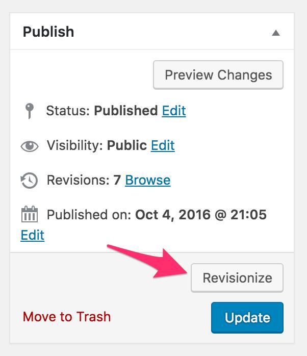 revisionize - wordpress.org