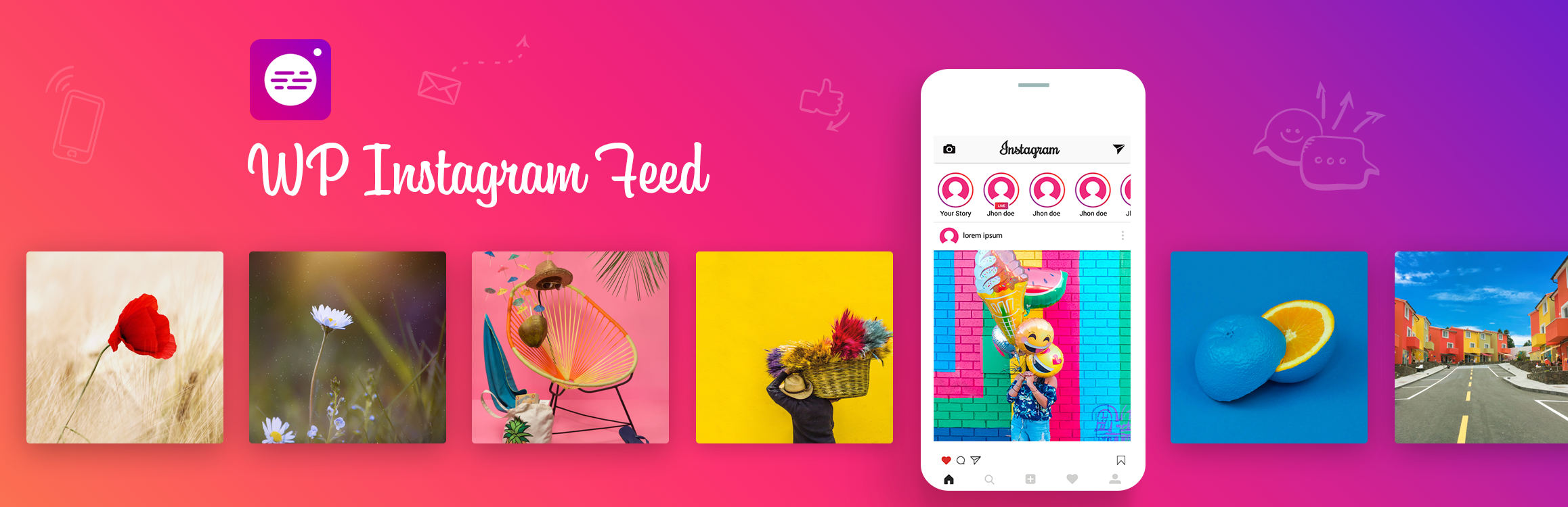 WP Instagram Feed – Instagram Gallery for WordPress