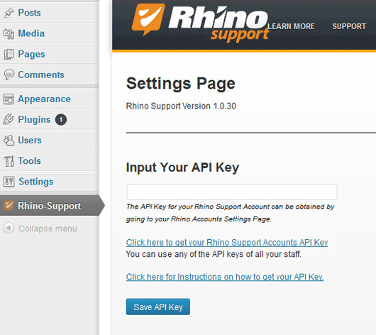 rhino-support screenshot 1