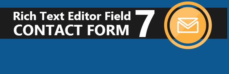 Rich Text Editor Field for Contact Form 7