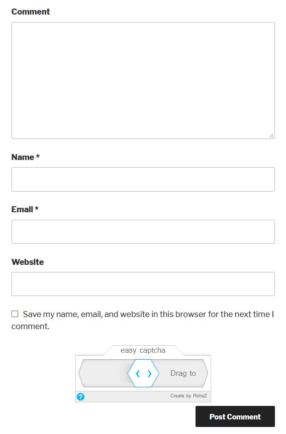 Captcha in Contact Form 7
